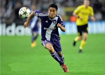 Andy Najar y el Anderlecht sumaron una victoria más