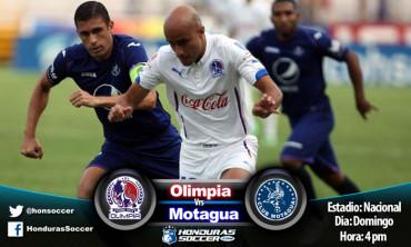 Olimpia y Motagua, definirán hoy quién será el otro finalista