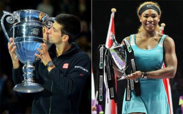 Djokovic y Serena, los Mejores Tenistas de 2014