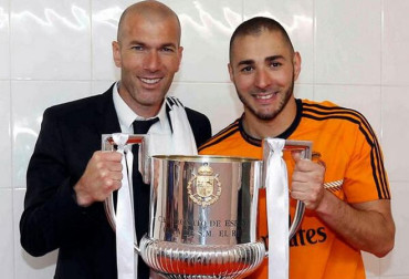 """Benzema: """"Me gustaría que me entrenase algún día Zidane"""""""