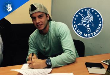 Ricardo Rosales estampó su firma con el Campeón Motagua