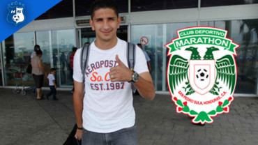 Johnny Leverón vestirá la camiseta del Marathón en el Clausura