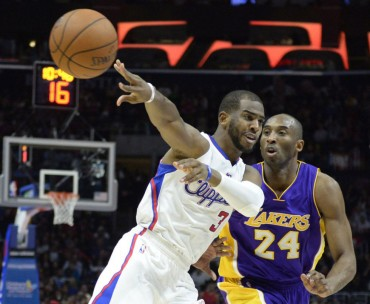 Los Clippers trituran a Kobe y sus Lakers
