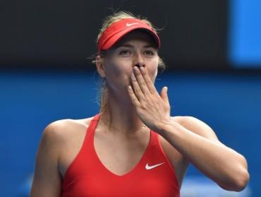 Maria Sharapova sobrevive en Abierto de Australia