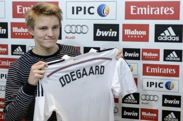 """Martin Odegaard: """"No siento presión estar en el Madrid"""""""