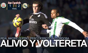 Real Madrid sufrió, pero derroto al Córdoba