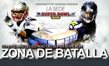 La sede del Super Bowl XLIX