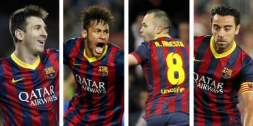 Un millón de euros para el Barça por el Mundial-2014