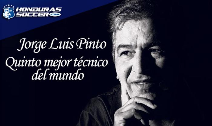 Jorge Luis Pinto es el quinto mejor técnico del mundo, según la IFFHS