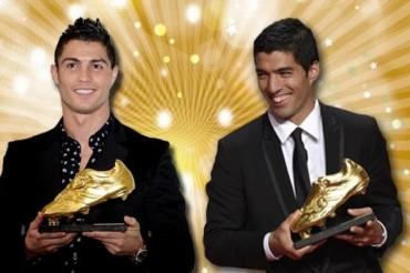 Suárez y Ronaldo, máximos goleadores del 2014