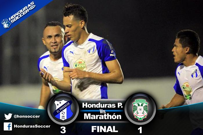 Honduras Progreso es intratable en su casa y vence a Marathón