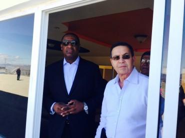 Jeffrey Webb estuvo presente en las instalaciones del Proyecto Gol en el Tizatillo