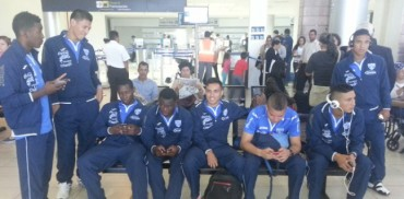 La H Sub-20 viajaron muy temprano este sábado rumbo a Jamaica