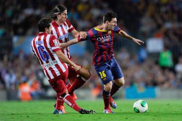 Atlético de Madrid sale hoy por la remontada ante el Barcelona