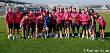 Cristiano comparte el Balón de Oro con sus compañeros