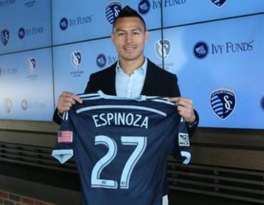 Roger Espinoza vuelve al Kansas City de la MLS