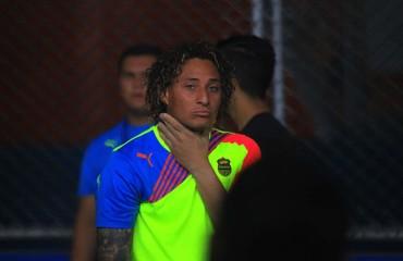"""Kevin Hernández: """"Me duele mucho no estar con mis compañeros"""""""