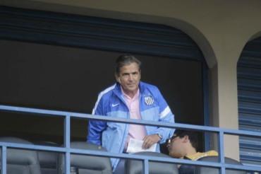 Jorge Luis Pinto presenció el partido entre Honduras Progreso-Marathón