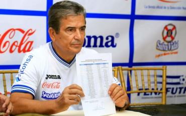 Jorge Luis Pinto anuncia convocados para el juego frente a Venezuela