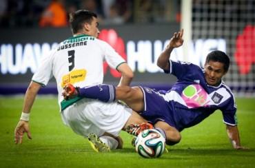 Anderlecht le frenaron las aspiraciones de seguirle las pisadas al puntero Brujas