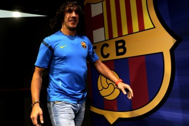 Carles Puyol renunció al Barcelona