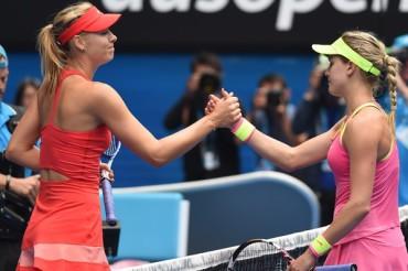 Garantizada una finalista rusa entre Sharapova y Makarova