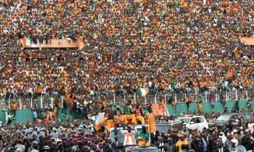 Un millón de personas reciben en Abiyán a los campeones de África