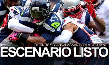Seahawks y Patriots, tras el Campeonato de la NFL