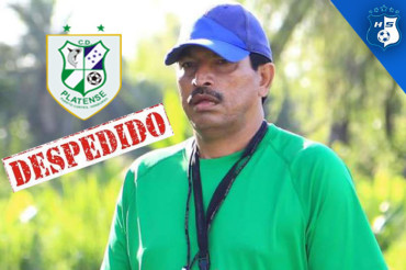 Cortado primer entrenador del Clausura, Carlos Martínez fuera del Platense