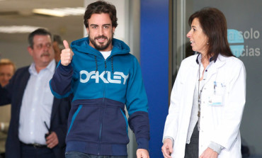 Fernando Alonso dejó el hospital