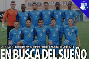 """La """"H"""" Sub-17 comienza hoy su camino Rumbo al Mundial de Chile 2015"""