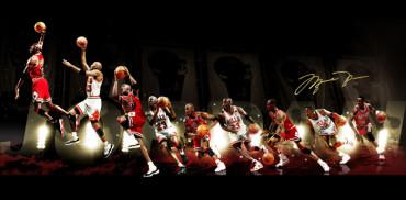 Michael Jordan, el 'Hombre de Hierro' en la NBA