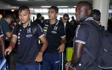 La Selección de Honduras salió rumbo a Tierras Venezolanas