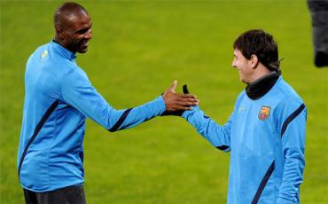 Abidal no descarta que Leo Messi abandone el Barça
