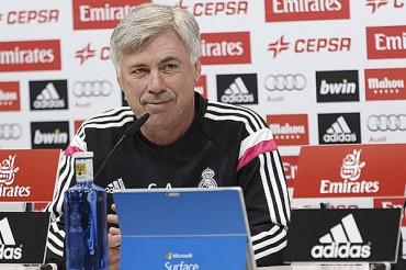 Ancelotti, sin pretextos ante el Atlético de Madrid
