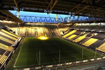 Evacuaron estadio del Dortmund por bomba