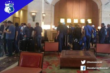 Herediano de Costa Rica arribaron a Honduras  para enfrentar al Olimpia