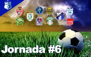 Jornada #6 del Torneo de Clausura en imágenes