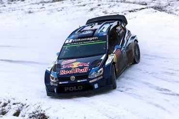 Ogier defenderá cima del Rally en Suecia