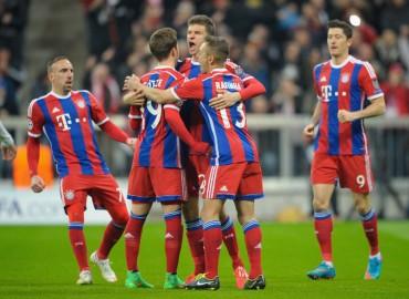 Bayern Munich no cree en nadie y vapulea al Shakhtar Donetsk