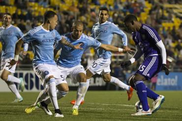 Bryan Róchez debuta y comenzó su aventura en la MLS
