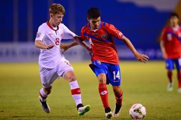 Costa Rica pierde duelo directo frente a Canadá