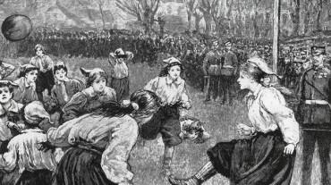 Los orígenes del fútbol femenino