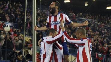 Sufrido pase del Atlético de Madrid a cuartos de final de la Champions League