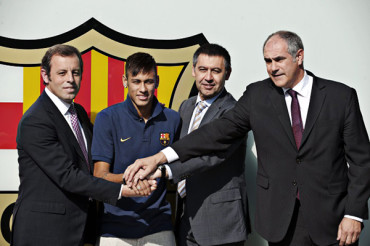 Propusieron juzgar a Bartomeu y Rosell por caso Neymar