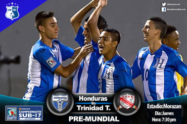 """La """"H"""" Sub-17 solo le queda Ganar o Ganar hoy ante Trinidad Tobago"""