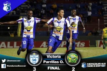 Victoria no perdono al Parrillas One en la Ceiba