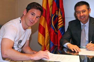 """Bartomeu: """"Messi se retirará en el FC Barcelona"""""""