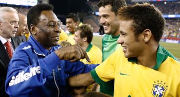 """Pelé: """"Neymar es como un hijo para mí"""""""