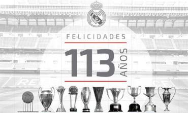 El Real Madrid celebra sus 113 años